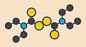 Disulfiram drug molecule