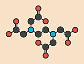 EDTA drug molecule