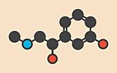 Phenylephrine molecule