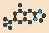 Xylometazoline drug molecule
