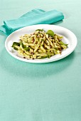 Strozzapreti with anchovy pesto