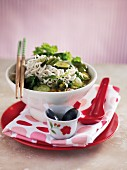 Thai-style noodle soup