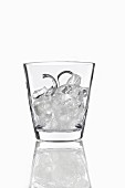 Ice cube glass 'Ice Box' by Nude