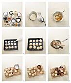 Lebkuchen mit Mandeln zubereiten