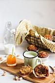 Muffins mit Pistazien