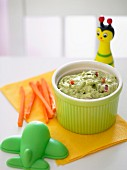 Tempting Toddlers Avocado Dip for Kids