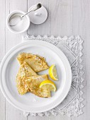 French Crepes with Lemon & Sugar
