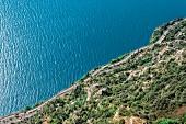 Lake Garda (shore road), Italy