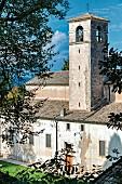 Church in Eremo di San Giorgio, Lake Garda, Italy