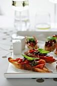 Chargrilled Capsicum Bruschetta
