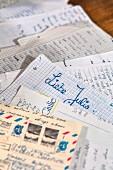 Letters at Club de Giulietta, Verona, Veneto, Italy