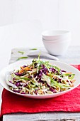 Cabbage salad with grated carrots (Asia)