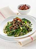 Insalata di catalogna (Italian chicory salad)