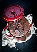 Roggenbrot in Topf gebacken