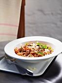 Sicilian fish pasta