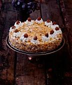 Oriental hazelnut cake