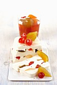 Dolce alla mostarda di frutta (dessert with candied fruit, Italy)
