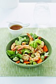 Prawn & Scallop Salad with Ginger Dressing