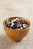 Munachedda nera (Italian beans)