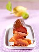 Musciame di tonno rosso (air dried tuna fish, Italy)