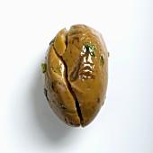 Eine Paterno-Olive mit Petersilie