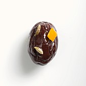 A Salentina olive with orange and fennel seeds