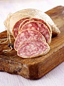 Salame d'oca (salami made from pork and goose meat, Italy)
