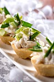 Stock fish tartlets