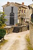 Benvenuti vineyard, Istrian, Croatia