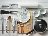 Küchenutensilien für die Geflügelzubereitung