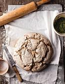 Gluten-free cumin bread