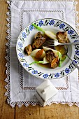 Mutton with turnips