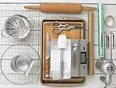 Kitchen utensils for making biscuits