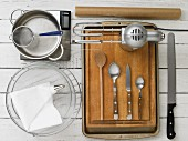 Kitchen utensils for making profiteroles