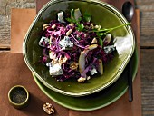 Pear red cabbage with Roquefort