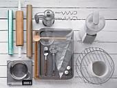 Geräte zur Pfefferkuchen Zubereitung