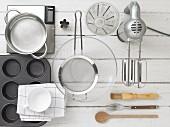 Küchenutensilien für Briochezubereitung