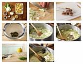 How to prepare fennel sauce with capers and sardines for pasta