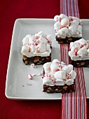 Marshmallow biscuits for Christmas
