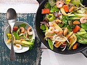Seafood & vegetable stir-fry