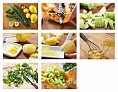 How to prepare papaya & cucumber salad