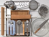 Kitchen utensils for making pastries