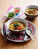 Chinese Longevity Wealth noodle soup