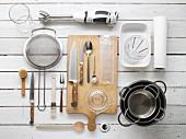 Kitchen utensils for preparing roast turkey