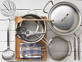 Kitchen utensils for preparing stock