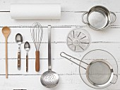 Kitchen utensils for preparing desserts