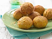 Bread rolls with apricot for children