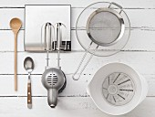 Kitchen utensils for making batter