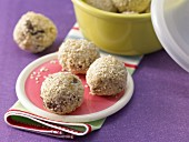 Muesli balls with quark
