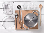 Kitchen utensils for preparing jelly